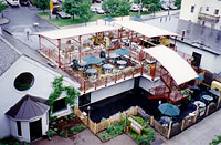 1995: New roof-top beer garden!